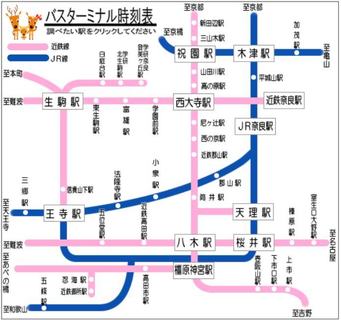 奈良交通方式