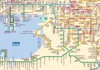 大阪區域圖