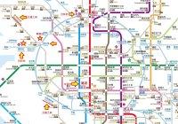 環球影城交通路線圖
