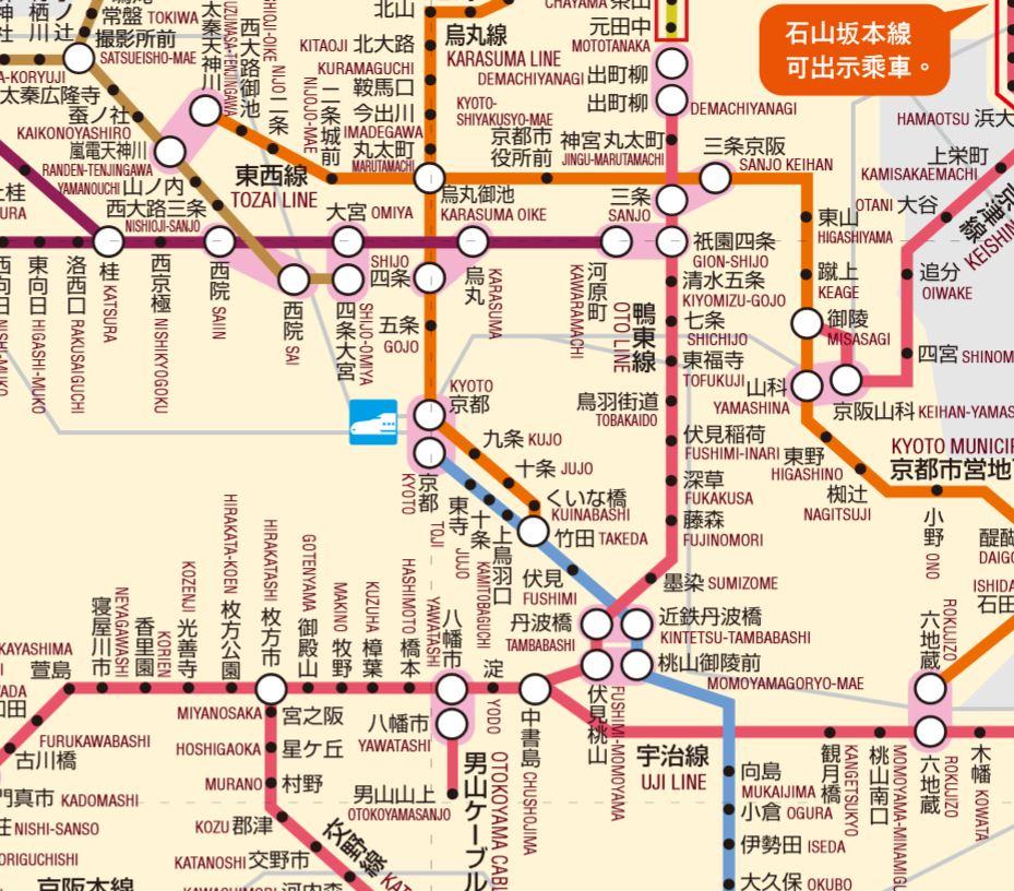 京都鐵路圖