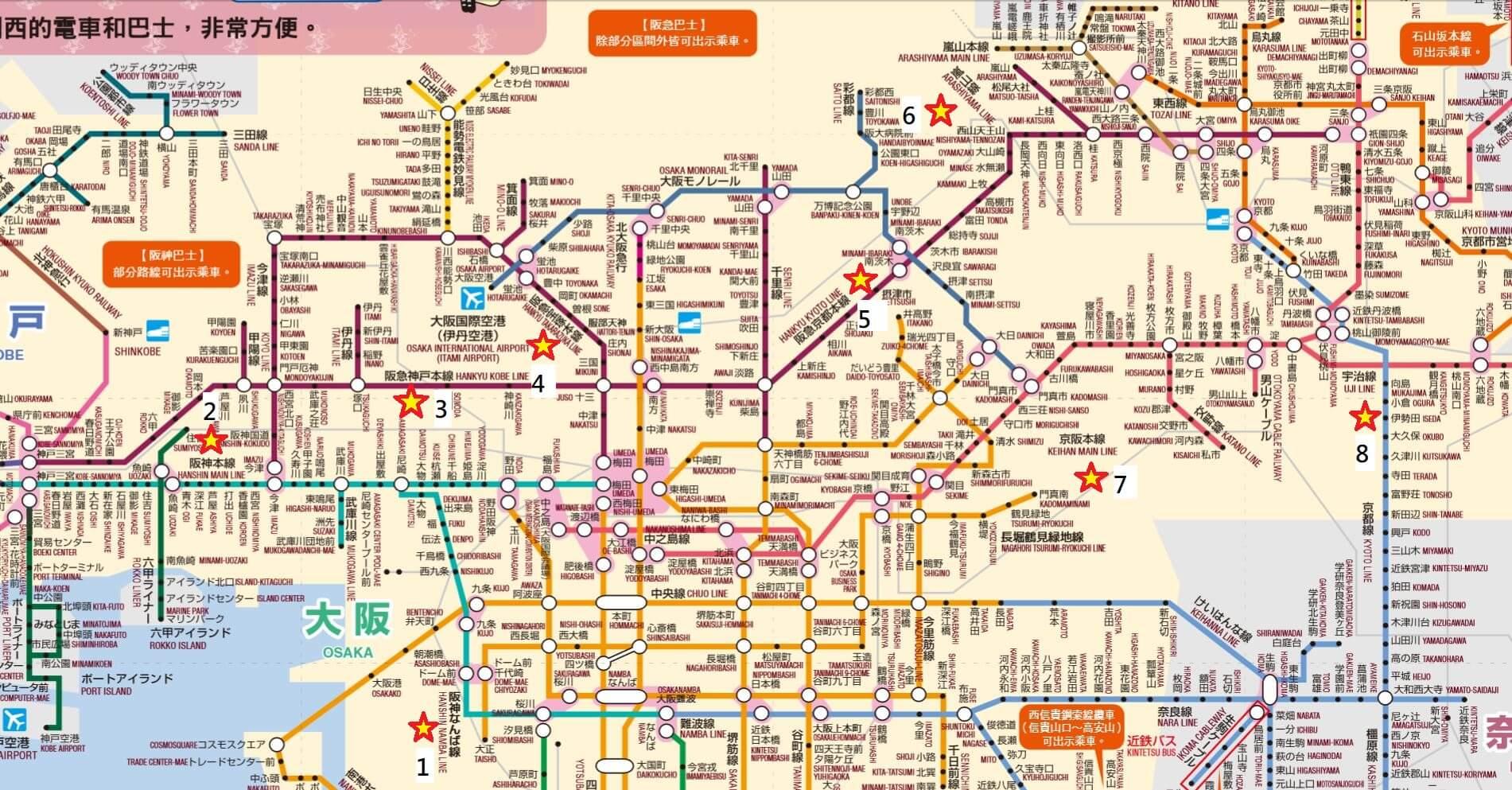 KTP地圖鐵道路線